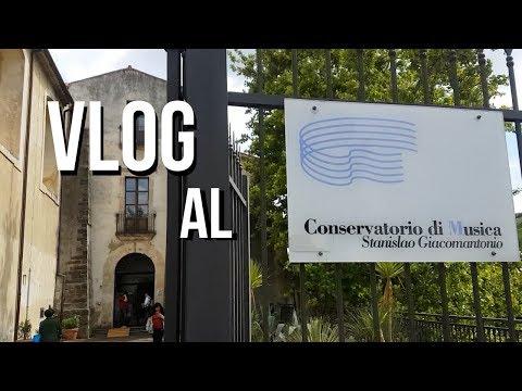 VLOG #2 - Un giorno al conservatorio di Cosenza!