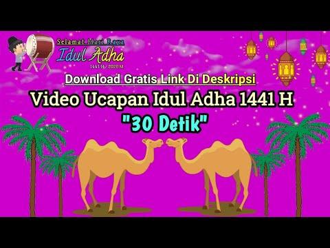 Video 30 Detik Ucapan Selamat Hari Raya Idul Adha 1441 H 2020 M Youtube