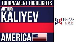 Arthur Kaliyev | Hlinka Gretzky Cup | Tournament Highlights