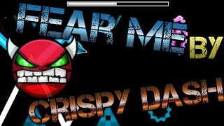 CYAN CIRCLES!Geometry Dash Fear Me by CrisPy Dash (Easy Demon)