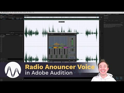 How to Get The Radio Announcer Voice Effect