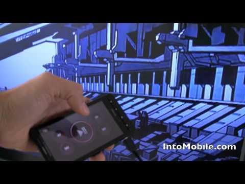 Verizon Motorola Droid X HDMI-out video demo