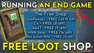 I RAN A FREE SHOP. Giving Nakeds FREE END GAME LOOT! - Rust Shop Gameplay/Roleplay