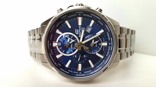 Огляд і параметри Casio Edifice EFR-304D-2A (Review and setting)