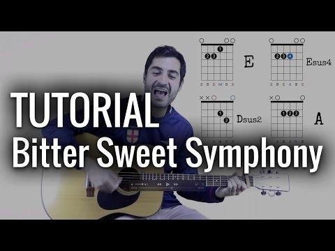 Bitter Sweet Symphony TUTORIAL ♪ Aprendiz de Guitarra TV