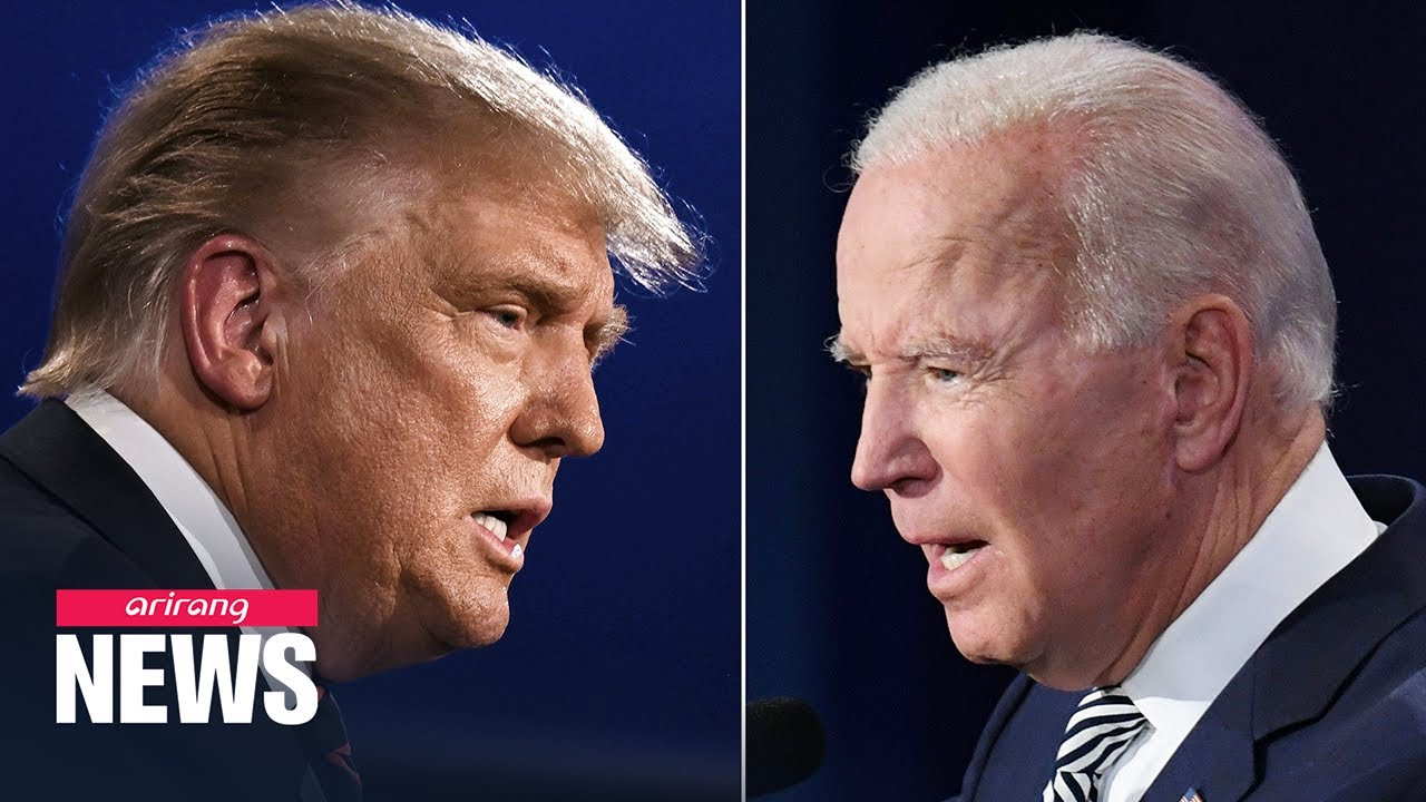 Trump and Biden clash fiercely in first face-to-face presidential debate