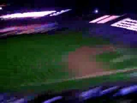 Lights out at Coors Field!