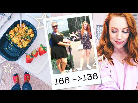 A Day in My WEIGHT LOSS | Food + Fitness ⭐️