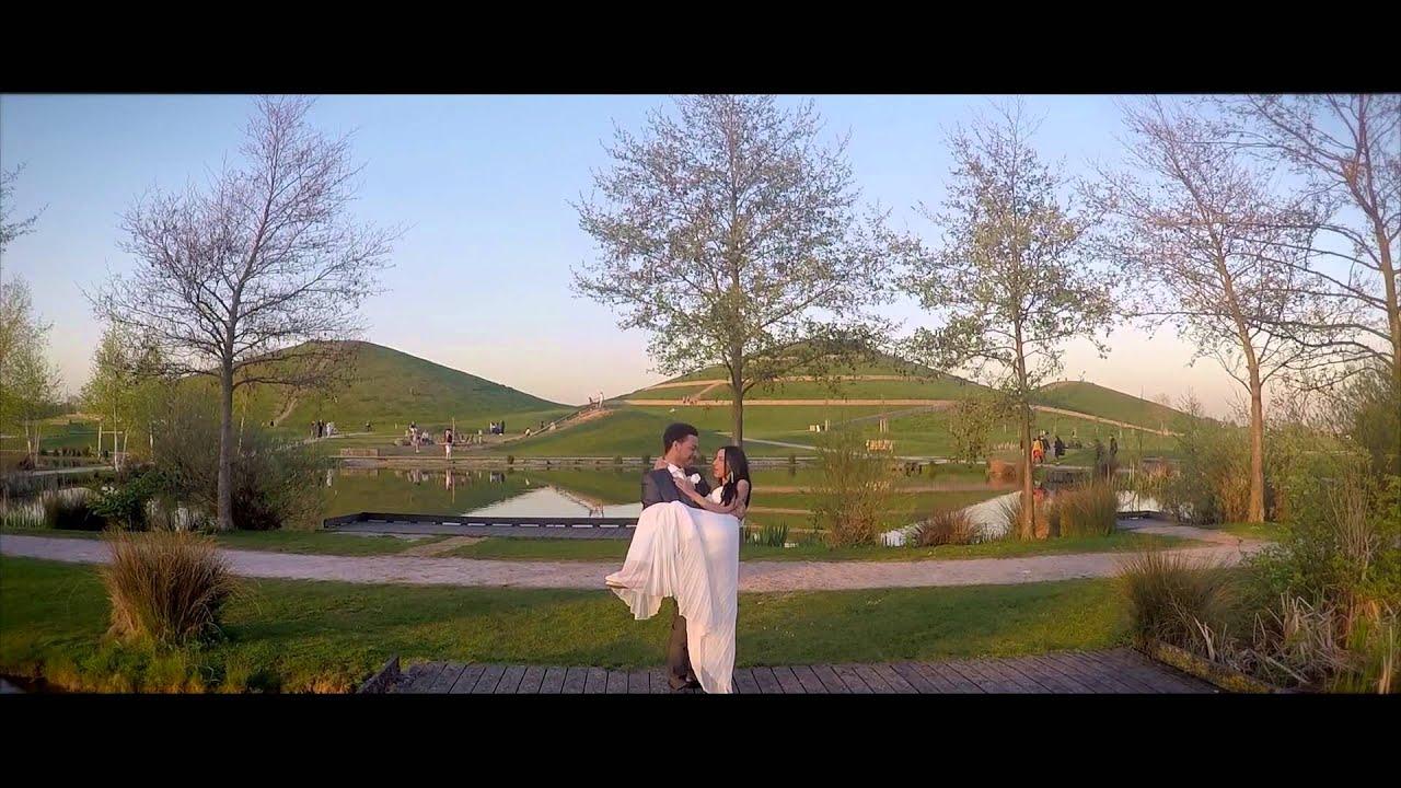 Aerial Drone Wedding Photoshoot