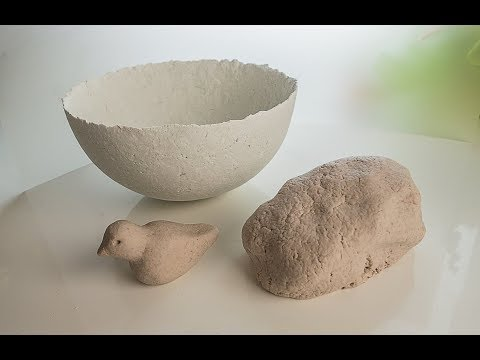 How To Make DIY Paper Clay Best Recipe!