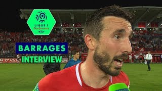 Interview de fin de match Dijon FCO - RC Lens (3-1)  Ligue 1 Conforama - saison 2018/2019
