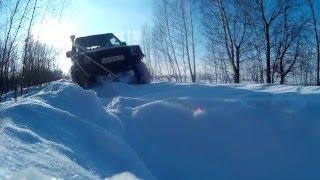 Simex Jungle по снегу(, 2016-01-21T16:42:29.000Z)
