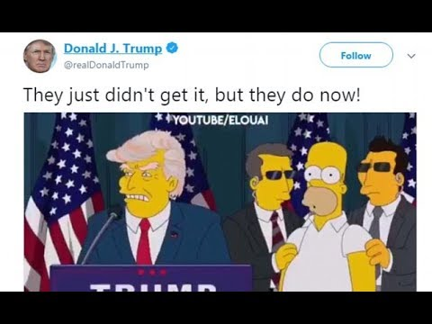 Trump tweets video of people saying he would never become president - 247 news