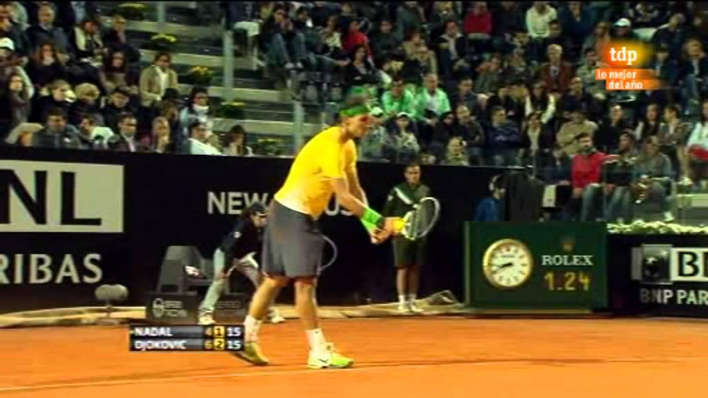 Rafa Nadal vs Novak Djokovic (ATP Masters 1000 Roma 2011 ...