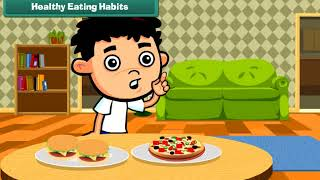 With the help of this video you can easily teach your child about healthy eating habits. for more learning videos don't forget to subscribe us. visit us www....