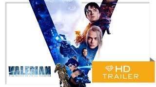 Valerian y la Ciudad de los Mil Planetas - Trailer Final (Subtitulado)