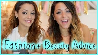 NikiAndGabiBeauty's Back To School Fashion And Beauty Guide!(Funny Yoga Challenge - http://bit.ly/1kjQcOM Miranda's Makeup Tutorial - http://bit.ly/1rLFwef Back to school is coming up soon :( but Niki and Gabi have some ..., 2014-07-28T22:29:38.000Z)