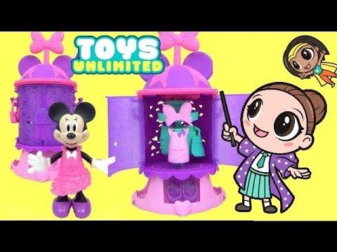 Minnie's Turnstyler Fashion Closet & Minnie Bow-tique Bowtastic Kitchen Play Set