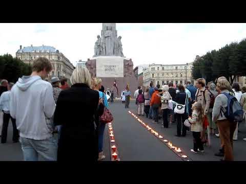 baltic way memorial riga 2