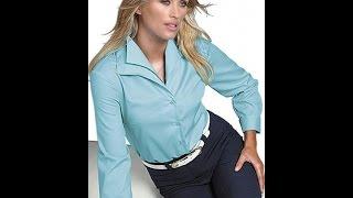 Смотреть видео красивую женские блузку