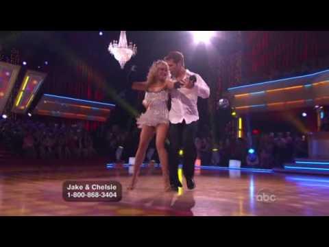Jake Pavelka & Chelsie Hightower - Risky Business Cha Cha ... Tom Cruise Risky Business Dance