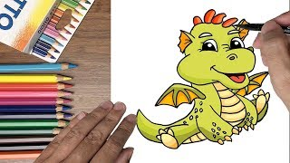 Dạy bé tập vẽ rồng con