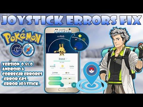 how to use joystick in pokemon go