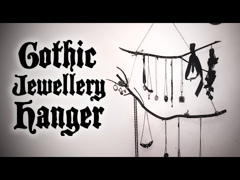 Goth DIY - Easy Witchy Jewellery Hanger   Toxic Tears