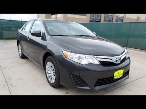 2014 toyota camry xle hybrid full review start up exhaust youtube. Black Bedroom Furniture Sets. Home Design Ideas