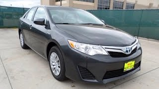 2014 Toyota Camry XLE Hybrid Full Review, Start Up, Exhaust