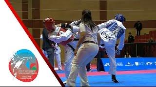 [SEMI FINAL] Mixed Gender Team   USA vs. RUSSIA / 2016 WTF World Taekwondo Team Championships
