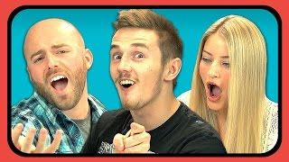 YouTubers React to Daŗude - Sandstorm