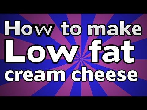 How To Make Low Fat Cream Cheese, Like Philadelphia Cream Cheese