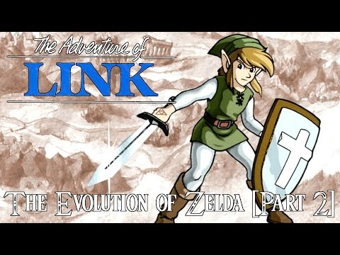 The Evolution of Zelda [Part 2] - Zelda II: Link's Adventure Review