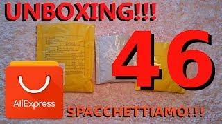 ALIEXPRESS unboxing n°46, spacchettiamo insieme !!!