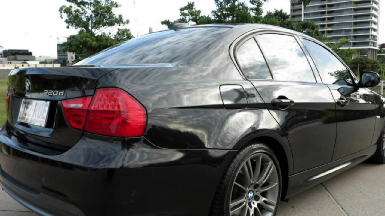 2011 bmw 320d e90 my11 lifestyle steptronic sapphire black 6 speed auto seq sportshift sedan. Black Bedroom Furniture Sets. Home Design Ideas