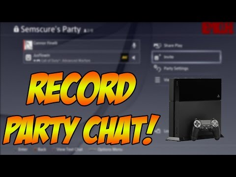 How to Record Party Chat on PS4 w/ Elgato! (Easiest Method)