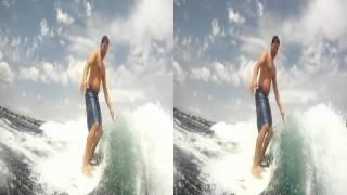 Wakesurfing Mallorca  in 3D !!!