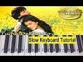 Tujhe Dekha to ye Jana Sanam on Keyboard Piano (Very Easy and slowly played for beginners ,learners)