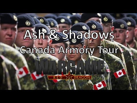 Wargame Red Dragon - Ash & Shadows - Canada Armory Tour