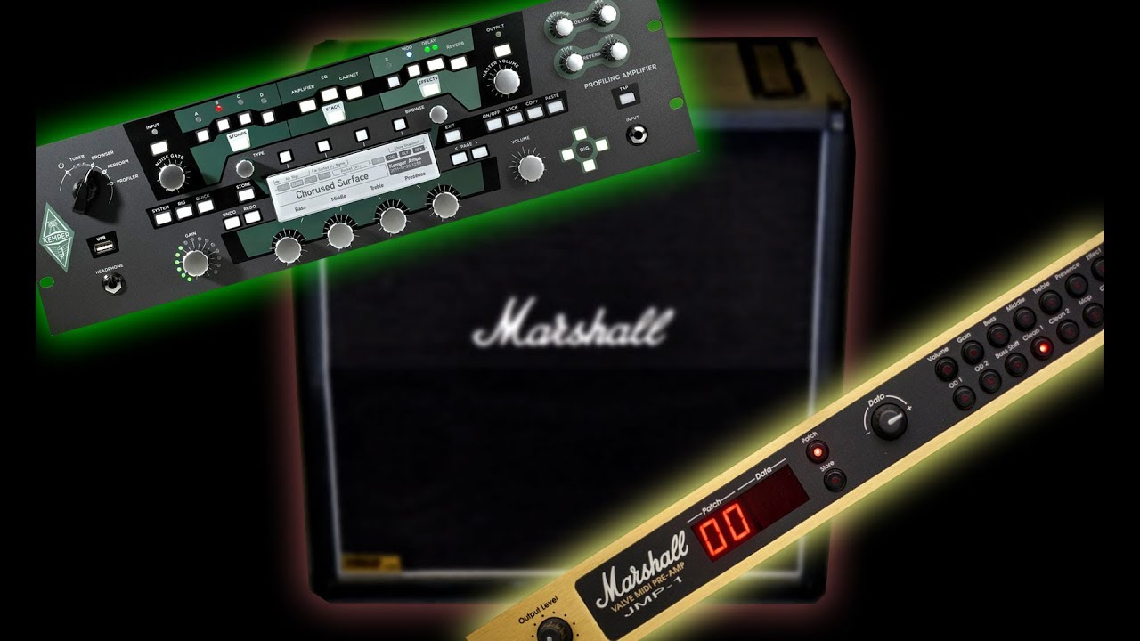 Kemper Profiles demo: Marshall JMP1 + 1960A 4x12