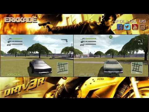 Comparison - Driver 3 XBOX vs PS2