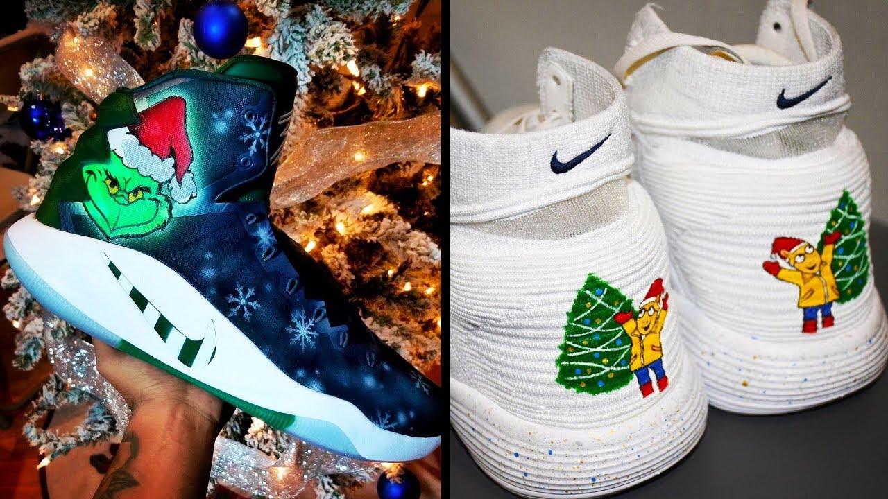 2018 NBA Christmas Day Sneakers - YouTube