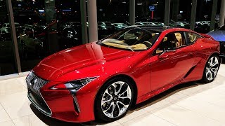 2019 Lexus LC 500 Complete Overview | Walkaround and Pricing