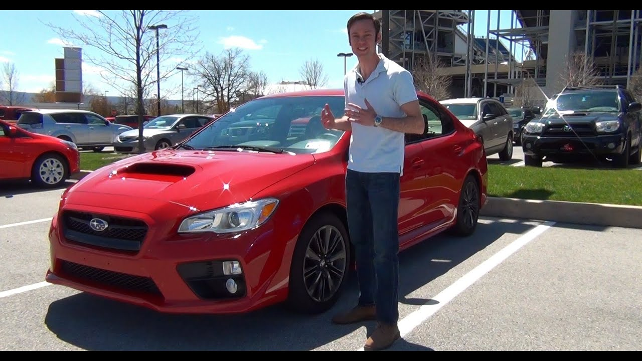 Review: 2015 Subaru WRX Premium - YouTube