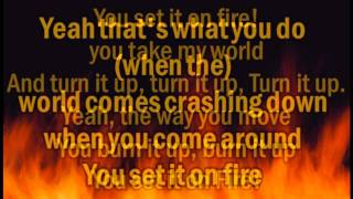 Set it on Fire - My Darkest Days (Lyrics on Screen)