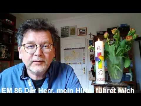 Der Gute Hirte, Videogottesdienst von Thomas Steinbacher am 26.4.2020
