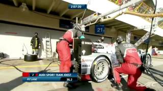 2013 WEC - Audi Carries Wheel Back to Pits at Sao Paulo!