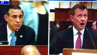 A very nasty Peter Strzok responds to a great question