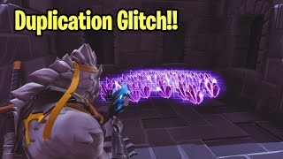 Duplication Glitch! Did This Video Have a Working Glitch! Fortnite Save The World